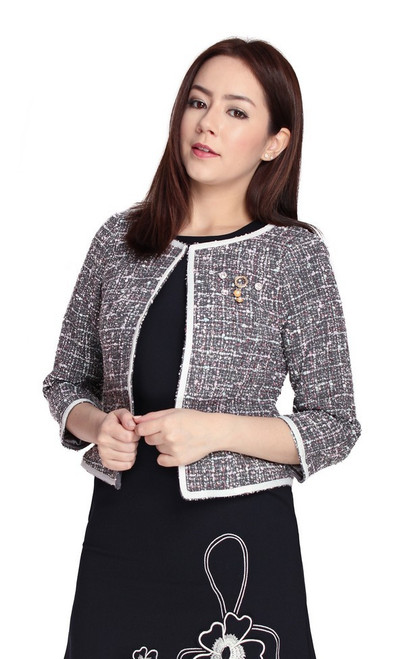 Soft Sparkle Tweed Jacket
