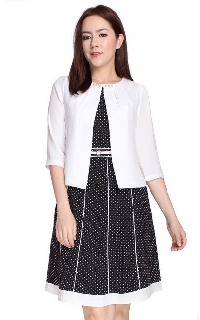 Pearl Jacket - White