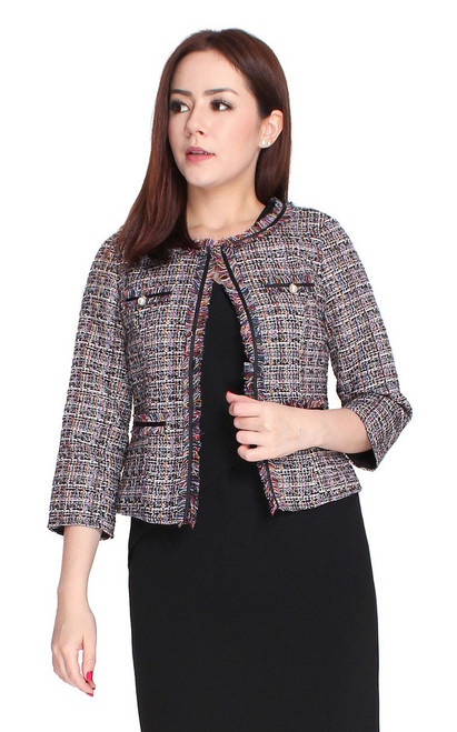 Tweed Jacket - Multi