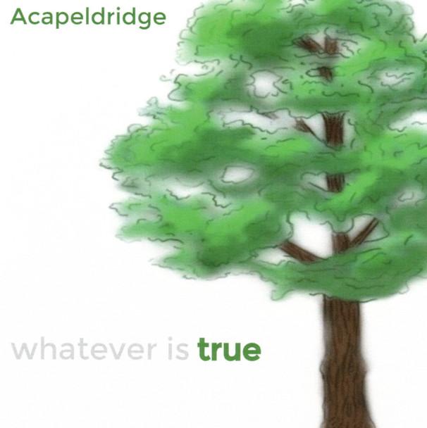 Whatever Is True CD by Acapeldridge