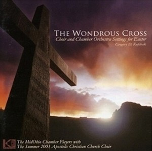 The Wondrous Cross Cd By Midohio Chamber Players Melt