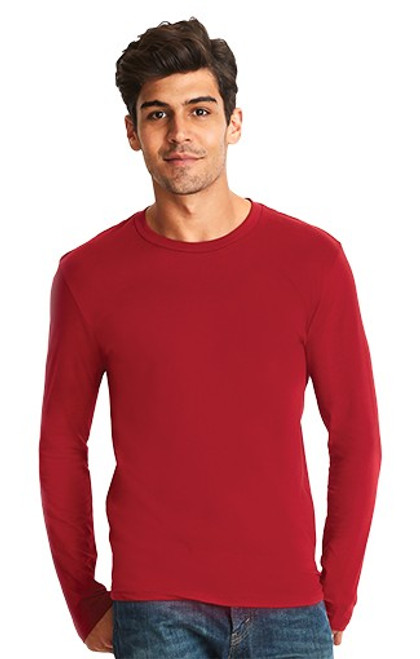 Next Level - Style 3601 - Men's Cotton L/S Crew