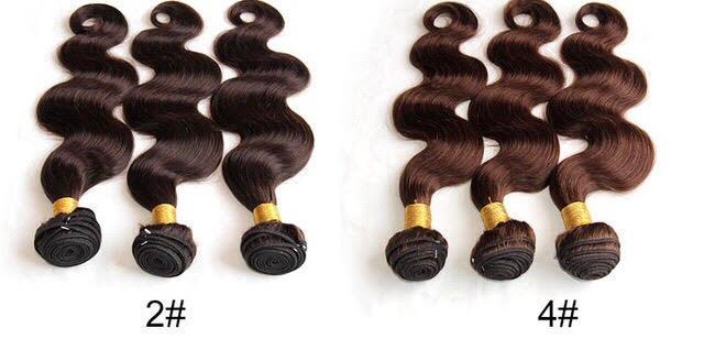 Color 2 And Color 4 Hair Diamond Dynasty Virgin Hair