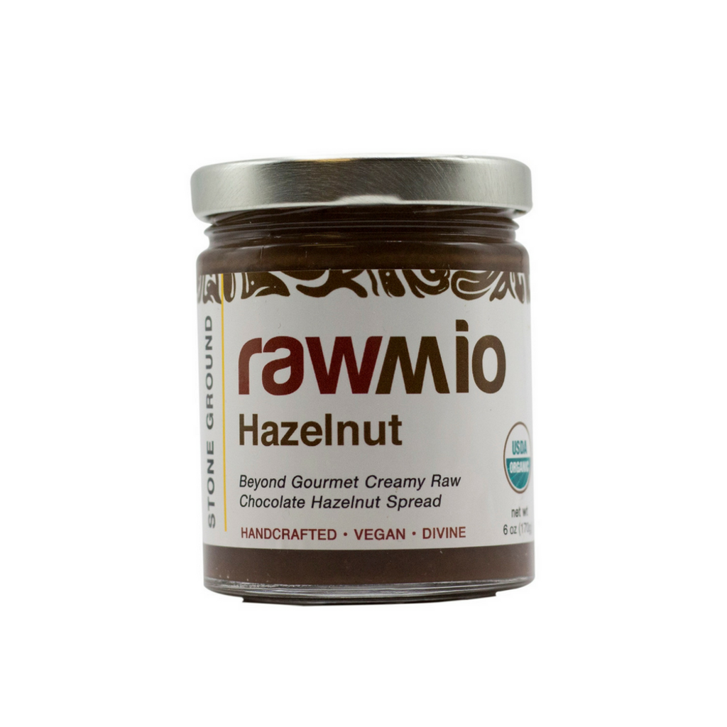 Rawmio Gourmet Raw Chocolate Hazelnut Spread