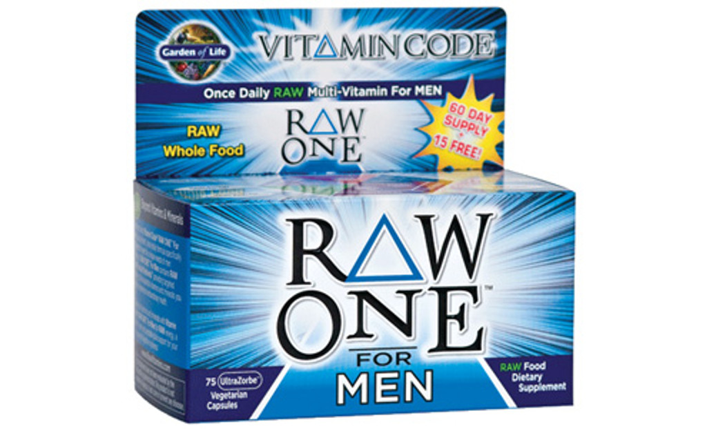 Garden of Life RAW ONE Men's Multivitamin