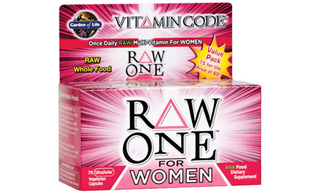 Garden of Life RAW ONE Women's Multivitamin