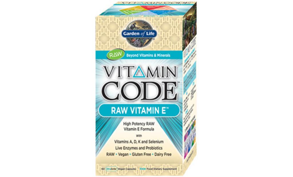 Garden of Life RAW Vitamin E