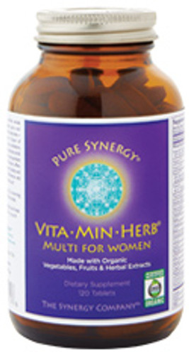 Synergy Company's Organic Multivitamin for Women