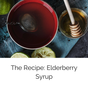On the Blog The Recipe: Elderberry Syrup