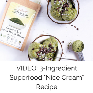 "VIDEO: 3-Ingredient Superfood ""Nice Cream"" Recipe"