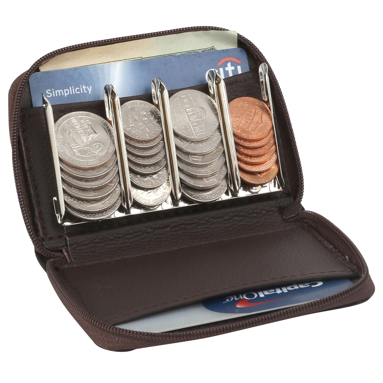 Coin Purse Wallet With Coin Sorter - My Charity Boxes