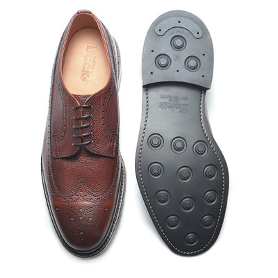 DUFFERIN - Burgundy Country Calf (Rubber Sole) - H