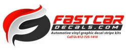 FAST CAR DECALS