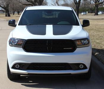 2011-2018 Dodge Durango Hood Stripe MATTE BLACK PROPEL HOOD   FCD