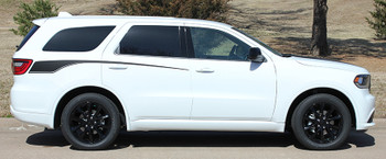 PROPEL SIDE   MATTE BLACK Dodge Durango Side Decals 3M 2011-2018