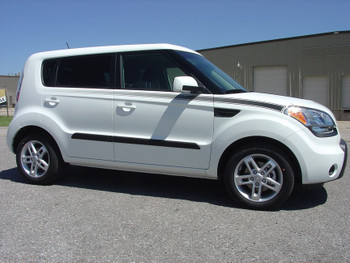 profile 2008-2013 Kia Soul Pinstripes SOUL R digital decals|FastCarDecals Call Us 812-725-1410
