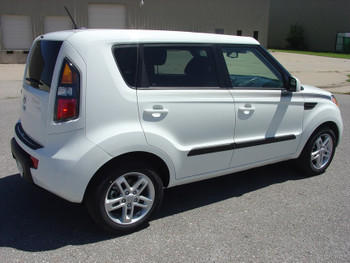 passenger side 2008-2013 Kia Soul Pinstripes SOUL R digital decals|FastCarDecals Call Us 812-725-1410