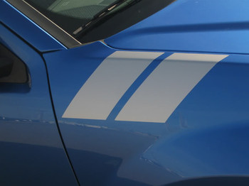 fender view of Dodge Avenger stripes 2008-2014 Avenged Double Bar Decal Vinyl Graphics