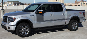 profile of Ford F150 Vinyl Decals 2009-2018 15 FORCE 1 side graphic hood FCD Call Us 812-725-1410