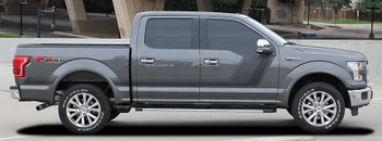 profile F150 Side Decals 2009-2018 15 Quake bed side graphics | FCDecals Call Us 812-725-1410