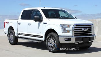 Ford F150 Rocker Panel Decals 2015-2018 150 Breakup Rocker | FCD Us 812-725-1410