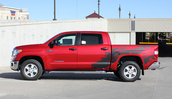 Toyota Tundra graphics decals 2014-2016 SHREDDER side stripes FCD Call Us 812-725-1410