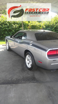 CLASSIC TRACK | Dodge Challenger with Stripes 2008-2018 3M | FCD Call 812-725-1410