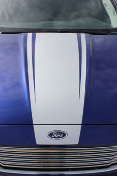 Ford Fusion hood stripes DAGGER HOOD vinyl graphics 2013-2017 FCD Call Us 812-725-1410