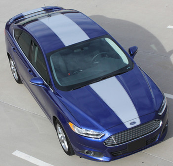 2014 Ford Fusion Racing Stripes OVERVIEW RALLY 2013-2017 | FCD Call Us 812-725-1410