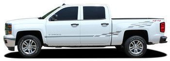 profile view CHAMP | Chevy Truck Stripes Side Vinyl Graphics 2013-2018 | FCD Call 812-725-1410