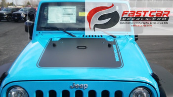 OUTFITTER HOOD | Jeep Wrangler hood stripe graphic 2008-2017 FCD Call 812-725-1410