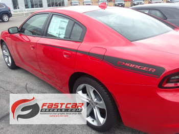 Dodge Charger Racing Stripe kit RECHARGE RT side decals 2015-2018 Call Us 812-725-1410