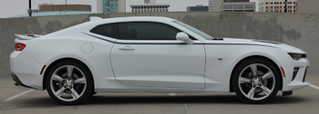 profile view of Camaro Decals Stickers PIKE side stripe 3M 2016-2018 FastCarDecals Call Us 812-725-1410
