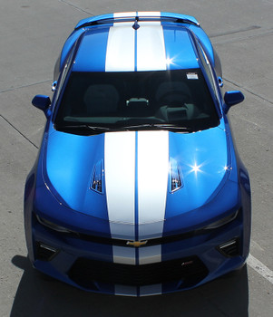 front full view BEST! Camaro Rally Stripes TURBO RALLY 3M 2016 2017 2018 NEW!  Call 812-725-1410