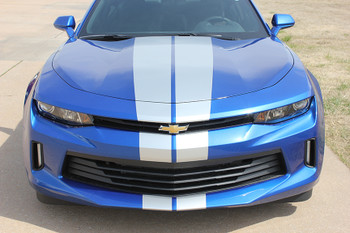 front view 2017 Camaro Rally Stripes TURBO RALLY 2016-2018| FastCarDecals Call Us 812-725-1410