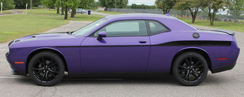 profile of Dodge Challenger Side Decals ROADLINE body stripes 3M 2008-2018 Call Us 812-725-1410