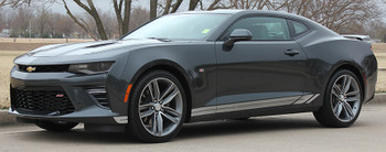 side view 2017 Camaro Decals TREAD ROCKER panel stripes 3M | FastCarDecals Call Us 812-725-1410