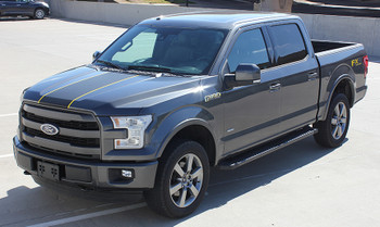 Ford Truck Decals 4x4 BORDELINE center stripes 3M 2015-2018 | FCD Call Us 812-725-1410