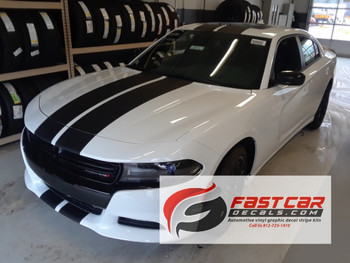 Dodge Charger with Racing Stripes N CHARGE RT decals 3M 2015-2018 Call Us 812-725-1410