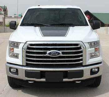 Ford F150 Decals Stickers FORCE HOOD stripes 3M 2009-2018 | FCD Call Us 812-725-1410