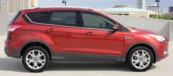 profile of Ford Escape Side Vinyl Graphics RUNAROUND stripe 3M 2013-2017 FCD Call Us 812-725-1410