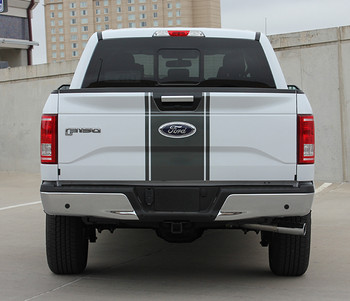 rear Ford F-150 Emblems Decals 150 CENTER STRIPE 2015-2018 3M | FCD Call Us 812-725-1410