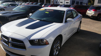 RECHARGE | 2011-2014 Dodge Charger With Stripes Graphics 3M | FCD Call 812-725-1410