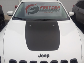 T-HAWK Jeep Cherokee Trailhawk Stripes 2014-2018   FastCarDecals Call Us 812-725-1410