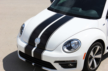 VW Beetle Stripe Decals BEETLE RALLY vinyl graphics 3M 2012-2018 Call Us 812-725-1410