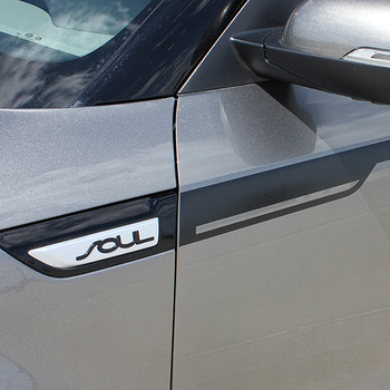 close up of Kia Soul Decals 2014-2018  ENSOUL Graphics 3M |  | FastCarDecals