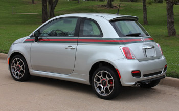 GUCCI | Fiat 500 Graphic Stickers Decals 2012-2017 | FCD Call Us 812-725-1410