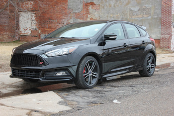 Ford Focus ST Side Graphics BLADE SOLID color decal kit 2015-2018 Call Us 812-725-1410