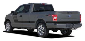 2015-2018 LEAD FOOT Ford F-150 Stripes NEW Edition Side Graphics Call Us 812-725-1410