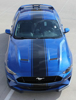 HYPER RALLY | 2018 Ford Mustang Center Graphics Stripes 3M | FCD Call 812-725-1410